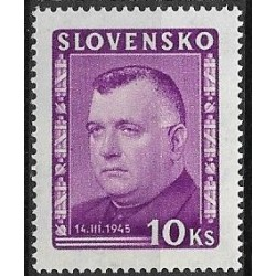 161-. ,P2, Josef Tiso 1945 ,**,