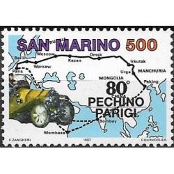 1356.- 80 let automobilových závodů Peking- Paříž ,**,