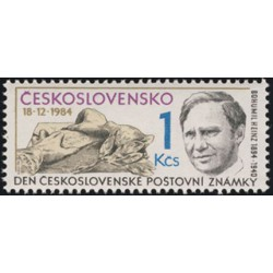 2679.,tm.lep, Den čs. Poštovní známky,**,