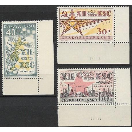 1276- 1278./3/.datum, XII.sjezd KSČ , **,