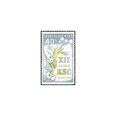 1277.- XII.sjezd KSČ , **,