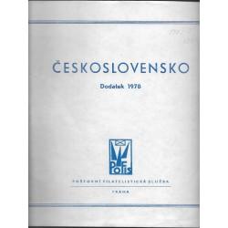albové listy Československo 1978, POFIS , použité,