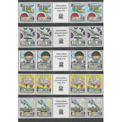 L86- 90./5/,S,zn.zn..K.zn.zn., Historické letectví - PRAGA 1977,**,