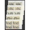 2469- 2473./5/,čtbl.h.p.rohPA, Poštovní muzeum- historické poštovní vozy,**,