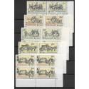 2469- 2473./5/,čtbl.d.p.rohPA, Poštovní muzeum- historické poštovní vozy,**,