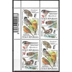 1083- 1084./2/,čtbl.l.h.rohPA, Zpěvní ptáci ,**,