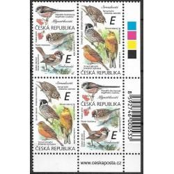 1083- 1084./2/,čtbl.p.d.rohPA, Zpěvní ptáci ,**,