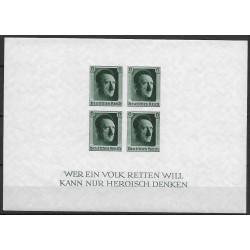 647. Bl8 1. Národní výstava známek Německa ,**,