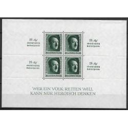 646. Bl7 1. Národní výstava známek Německa ,*,