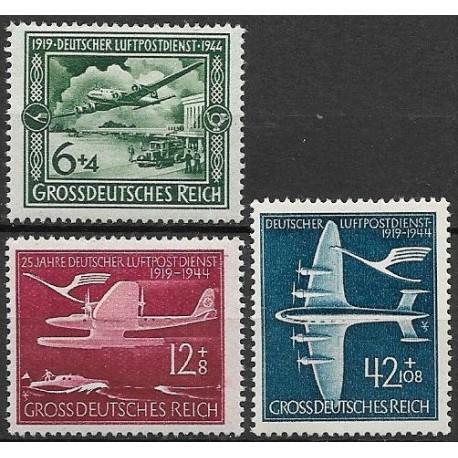 866- 868./3/, 25 let německého letectví ,**,