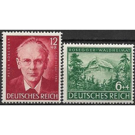 855- 856./2/,  100. let, výročí Peter Rosegger ,**,