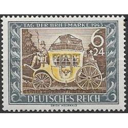 828. den poštovní známky 1943 ,**,