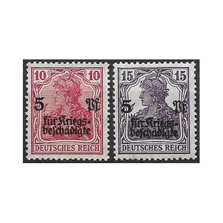 105- 106./2/, Germania- přetisk ,**,