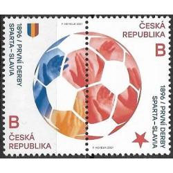 1113- 1114./2/st, První derby Sparta- Slávia ,**,