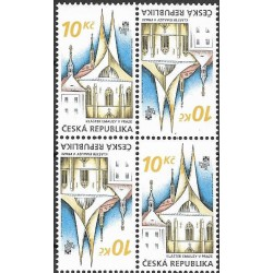 571.,St,čtbl, klášter Emauzy v Praze,**,