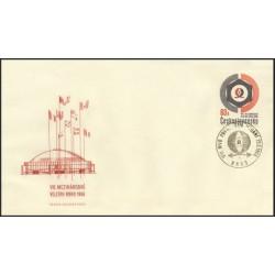 "1548./1/,FDC/1/, VIII. mezinárodní veletrh Brno 1966 ,o"","