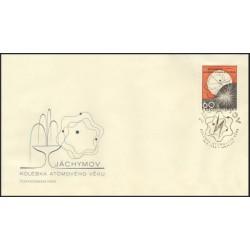 "1549. /1/,FDC/1/, Jáchymov- kolébka atomového věku ,o"","