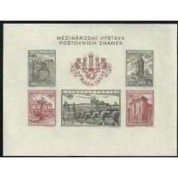 853- 857.A,b, Mezinárodní výstava známek PRAGA 1955,**, nezoubkovaný,