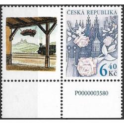 354.KL, Růže nad Prahou I.- kupon tisk ,**,