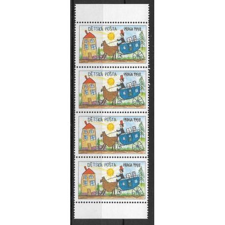1998 Dětská pošta PRAGA ,**,