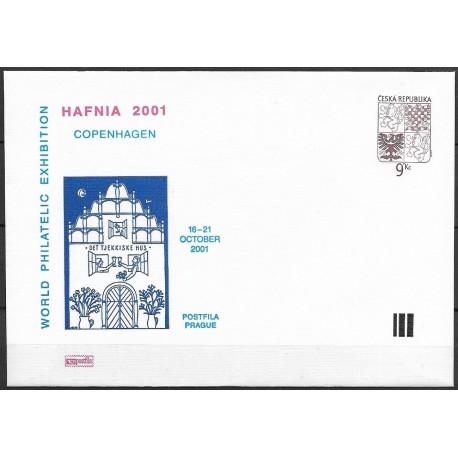 """5.P1COB, Velký státní znak České republiky HAFNIA 2001 ,o"""","""