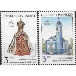 2988-89./2/, Pražské a Bratislavské motivy,**,