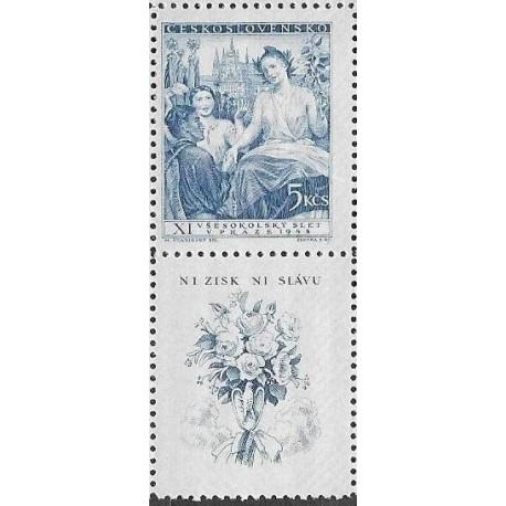 469.-KD, XI. Všesokolský slet v Praze- alegorie ,**,