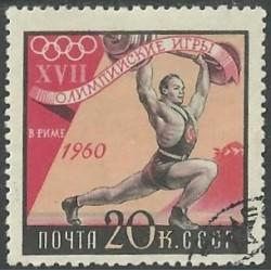 2372.- Olympijské sporty- vzpírání ,o,