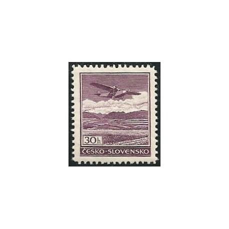 15.- Letecké známky- definitivní vydání,**,