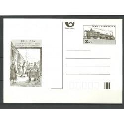 11.CDV, 150. výročí přepravy pošty po železnici,/*/,