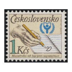 2921. Mezinárodní rok boje proti negramotnosti,**,