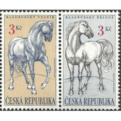 122-123.St./2/, Kladrubští koně, **,
