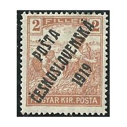 101. /190. Uherské výplatní - Ženci, barevné číslice, přetisk,*,