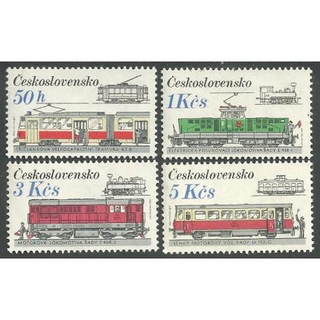 2764- 2767./4/, Československá kolejová vozidla,**,