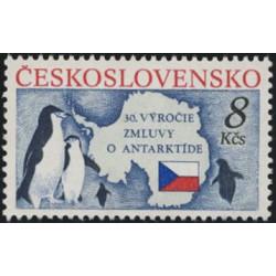 2978. 30. výročí Smlouvy o Antarktidě,**,
