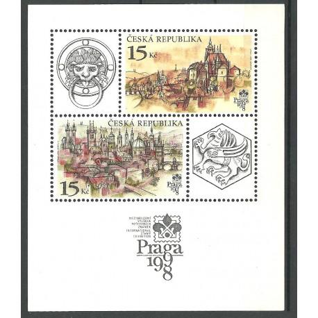 158.,A, Praga 1998- Praha stověžatá,**,A,