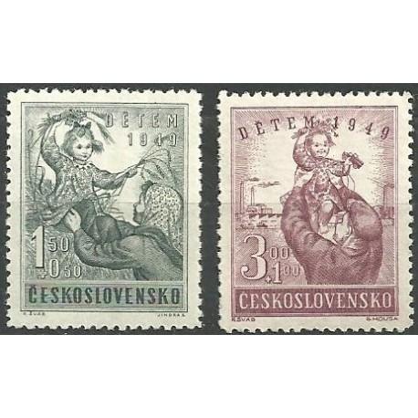 529- 530./2/, Dětem 1949,**,