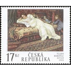 319. Umělecká díla na známkách - Vlaho Bukanovac,**,