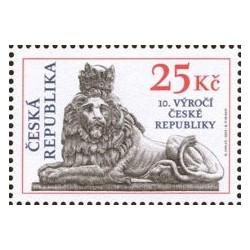 346. 10. výročí České republiky,**,