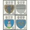 2423- 2426./4/, Znaky československých měst,**,