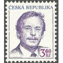 72. Prezident ČR Václav Havel /*1936/,**,