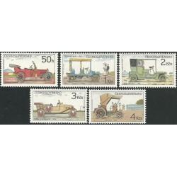2831- 2835./5/, Historické automobily,**,