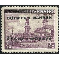 17.- Přetisk, Poděbrady,**,