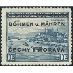 19.- Přetisk, Bratislava,**,