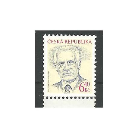 364. Prezident Václav Klaus- I. výplatní zn.,**,