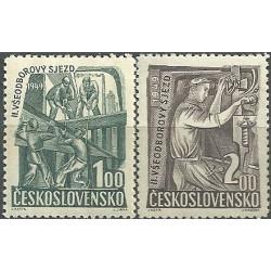 525- 526./2/, II.všeodborový sjezd,**,