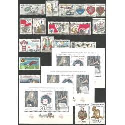 2730- 2777,rz,A, ročník známek 1986,**,