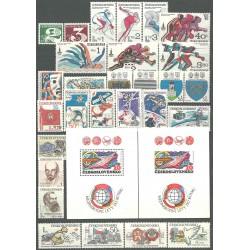 2413- 2466. ročník známek 1980,**,