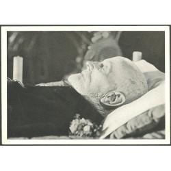 President-Osvoboditel T.G.Masaryk na úmrtním loži.,-o,
