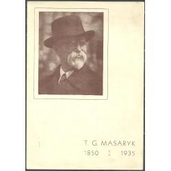 T. G. Masaryk 1850 7.3. 1935,o,